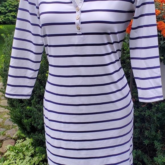 j. McLaughlin dress w/ 3/4 sleeves